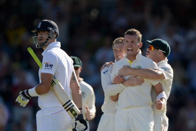 Ashes 2013/14: Key Points from Day 2 of 3rd Test the WACA, Perth