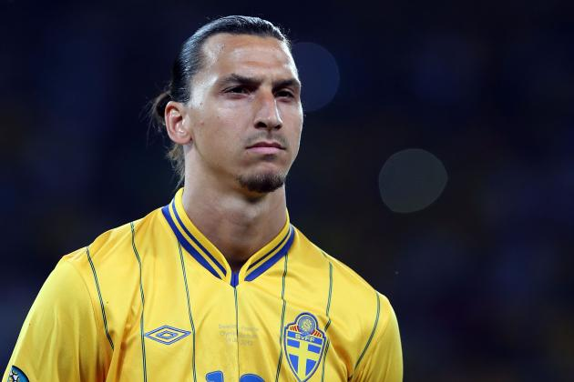 Zlatan Ibrahimovic's Career so Far in 25 Pictures and GIFs