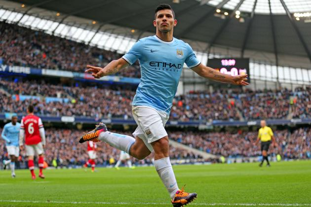 Sergio Aguero and the 20 Greatest Manchester City Strikers of All Time