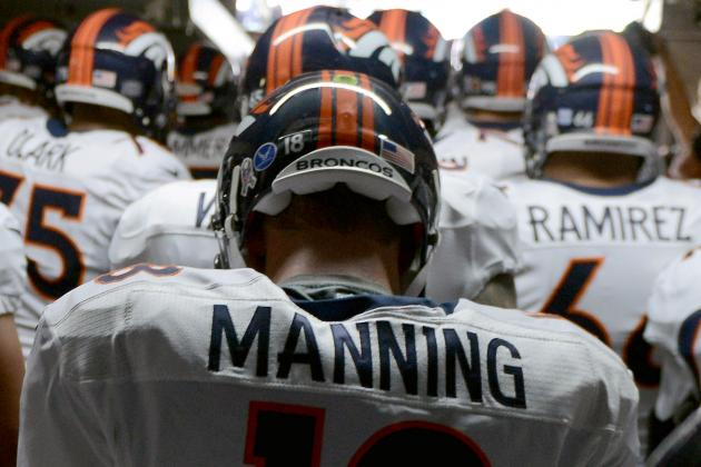 2013 NFL MVP Race: Ranking the Top 5 Candidates