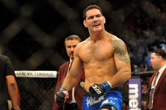 Chris Weidman: Power Ranking Every UFC Win