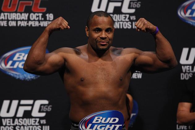 Daniel Cormier vs. Rashad Evans: Early Head-to-Toe Breakdown