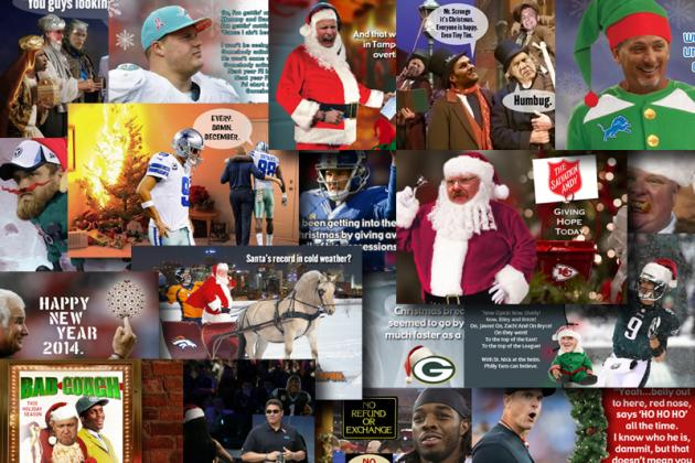 2013 Holiday Cards for Every NFL Team
