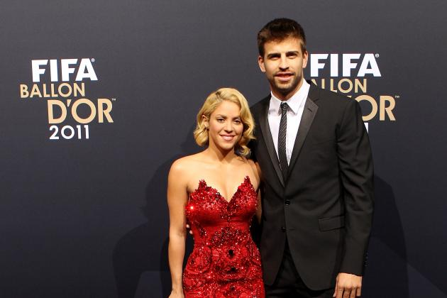 Shakira and the Best Barcelona WAGs