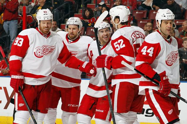 Each Detroit Red Wings Star's Best Highlight in 2013-14 so Far