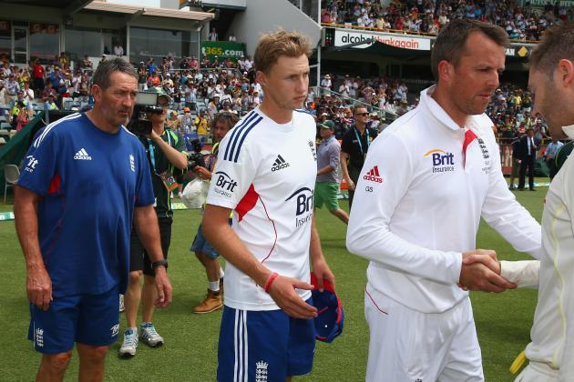 Ashes 2013/14: Player Ratings for England After 3rd Test in Perth