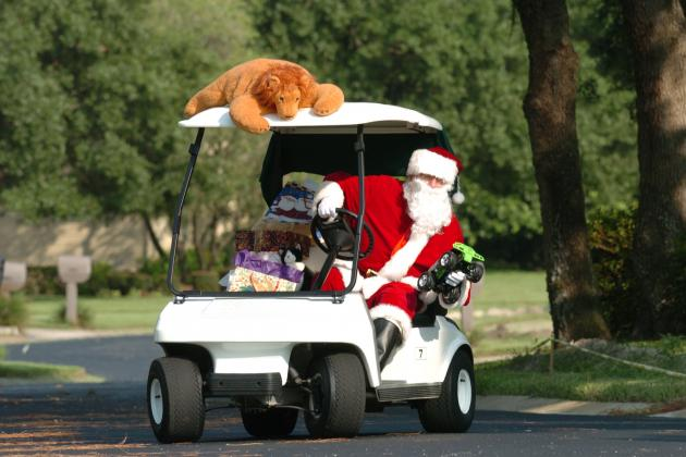 PGA and LPGA Letters to Santa Claus