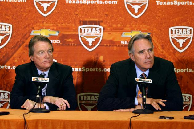 Meet Texas AD Steve Patterson's Advisory Committee for Head Coach Search