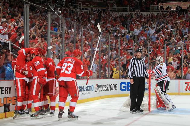 The Best Moment from Each Detroit Red Wings Star in 2013