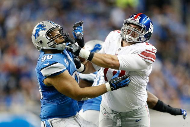 New York Giants vs. Detroit Lions: Full Lions Report Card for Every Position