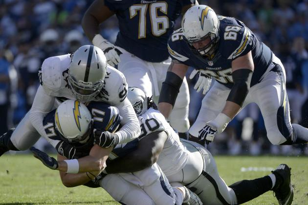 Raiders vs. Chargers: Takeaways from Oakland's 26-13 Loss to San Diego