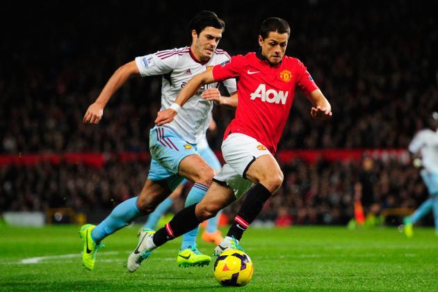 Javier Hernandez Transfer Rumours: Latest News on the Manchester United Star