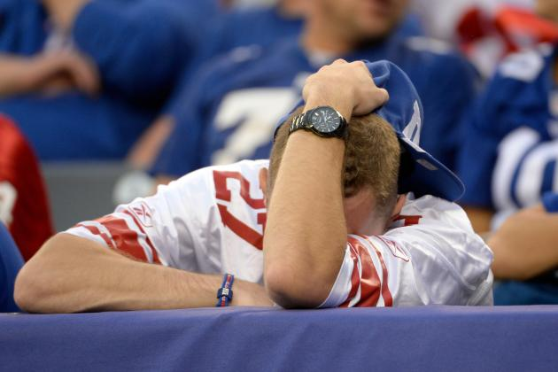 7 Most Disappointing Seasons in New York Giants History