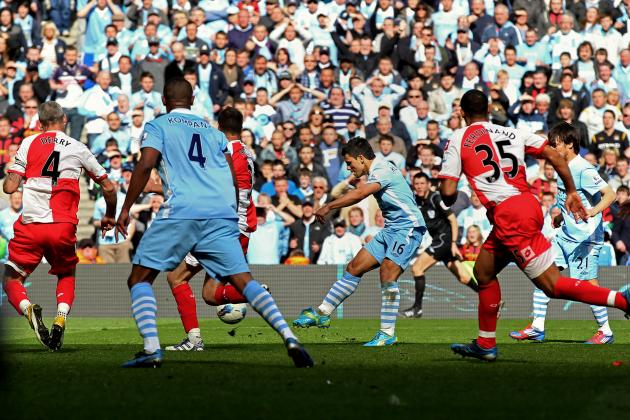 Manchester City Striker Sergio Aguero's Career so Far in 20 Pictures