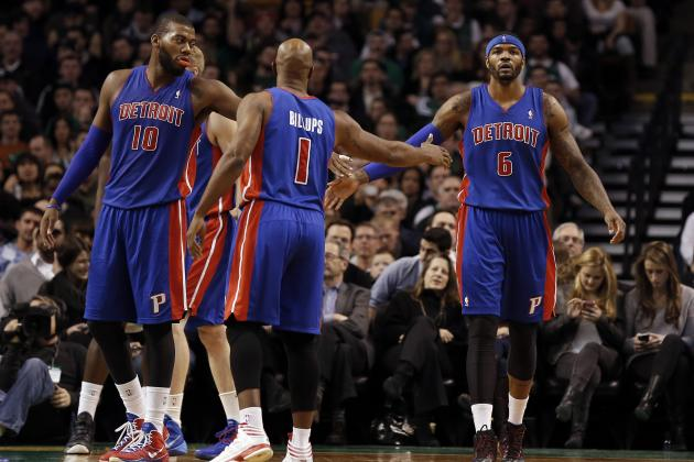 Year-End Grades for Every Key Detroit Pistons Player