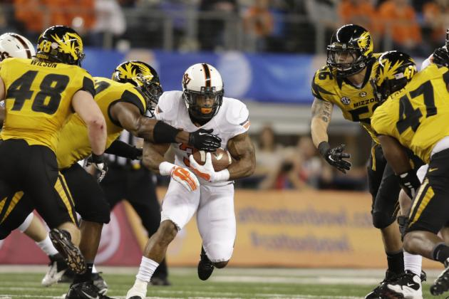 Cotton Bowl 2014: 10 Things We Learned from Oklahoma State vs. Missouri