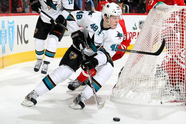 How Tomas Hertl's Injury Affects the 2013-14 Calder Trophy Race