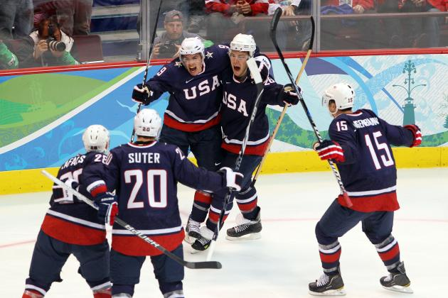 Complete Projection for Team USA's 2014 Olympic Hockey Roster