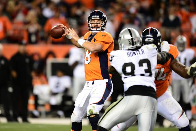 Denver Broncos vs. Oakland Raiders: 5 Storylines to Watch