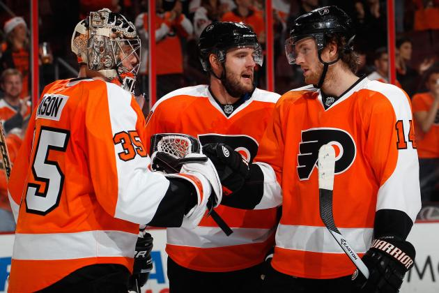 Philadelphia Flyers Awards for the 1st Half of the 2013-14 Season