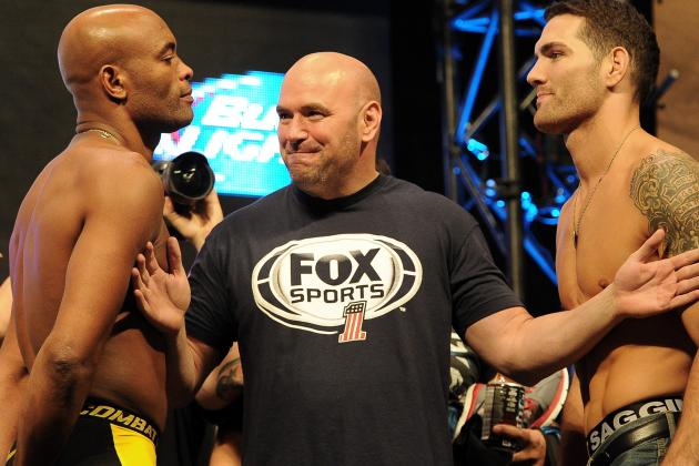 Weidman vs. Silva 2: 4 Predictions for the UFC 168 Main Event