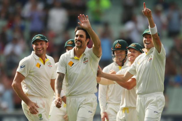 Ashes 2013/14: Player Ratings for Australia After 4th Test in Melbourne