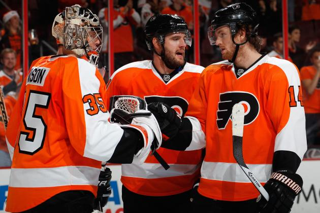 Report Card for Philadelphia Flyers at Halfway Point of 2013-14 Season