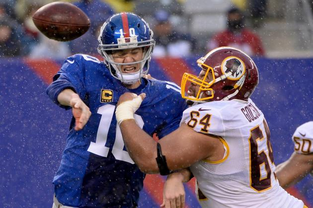 Washington Redskins vs. New York Giants: Takeaways from Washington's 6-20 Loss