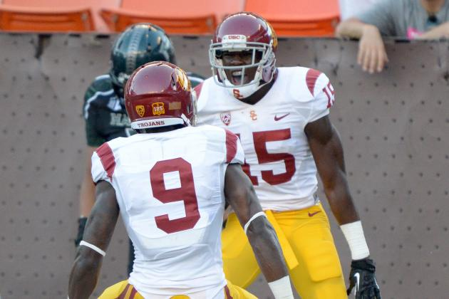 Marqise Lee vs. Nelson Agholor: Who Will Graduate USC with Better Career?