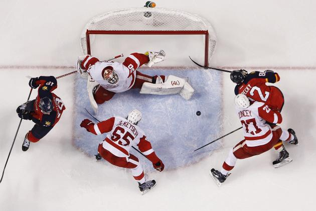 The 5 Biggest Surprises Halfway Through the Detroit Red Wings' 2013-14 Season