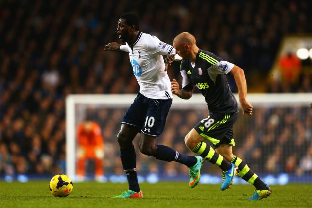 Emmanuel Adebayor Transfer Rumours: Latest News on the Tottenham Hotspur Star