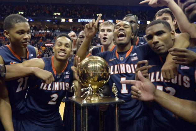 Illinois Basketball: The 5 Most Impressive Illini in 2013-14 so Far