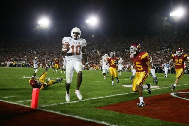 Power Ranking the Top 10 Plays in BCS Championship History