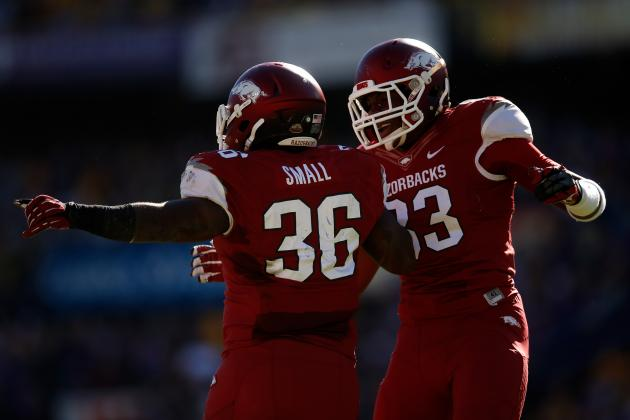 Arkansas Football: 5 Unforgettable Moments from Razorbacks' 2013 Season