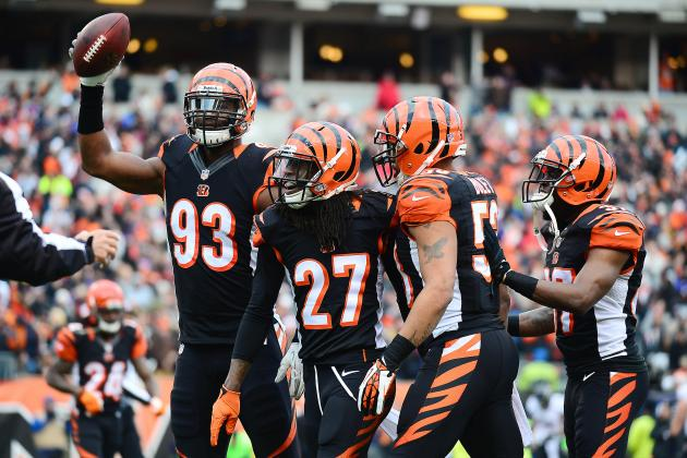 Grading Every Cincinnati Bengals Starter's 2013 Regular Season