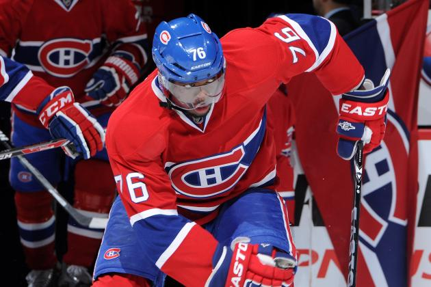 Montreal Canadiens Awards for the 1st Half of the 2013-14 Season