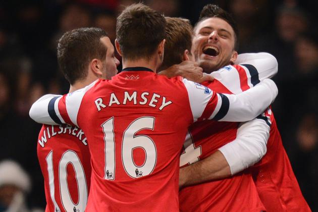 Ranking Arsenal's 5 Best Wins of 2013