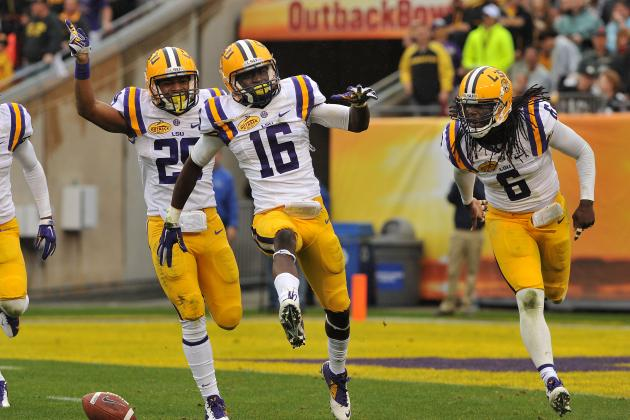 Outback Bowl 2014: 10 Things We Learned from Iowa vs. LSU