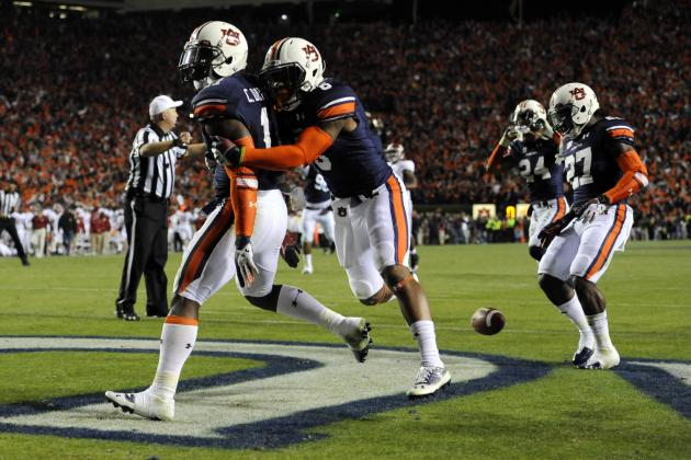 Auburn Football: Tigers' Top 5 Plays of 2013