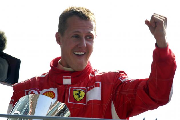 Michael Schumacher's 25 Best and Most Infamous F1 Moments