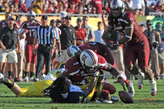 Jadeveon Clowney's Greatest College Football Moments