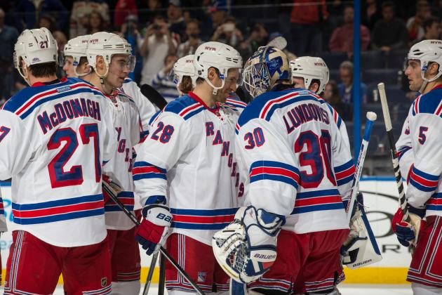 Breaking Down New York Rangers' Playoff Chances Midway Through 2013-14 Season