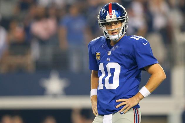 Ranking Eli Manning's 5 Ugliest Interceptions of 2013