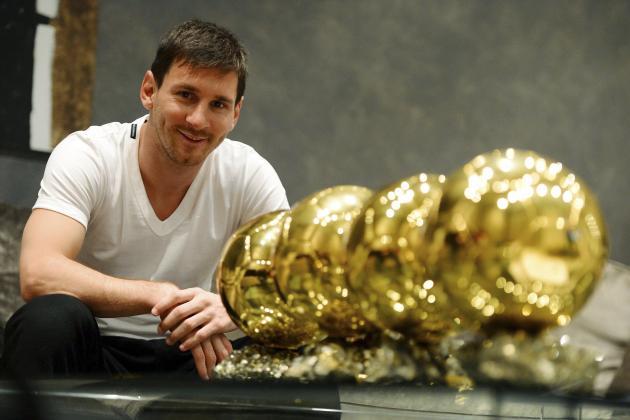 Messi Wins 2015 Ballon d 'Or