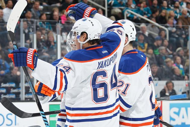 Edmonton Oilers' 5 Biggest Areas of Improvement for 2nd Half of 2013-14 Season