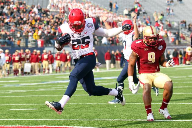 Arizona Football: How Will Cats Replace Ka'Deem Carey?