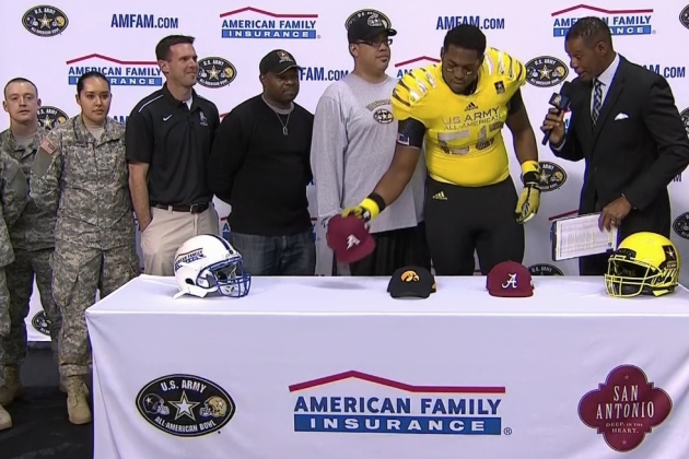 US Army All-American Bowl 2014: Commitment Tracker and Recruit Highlights