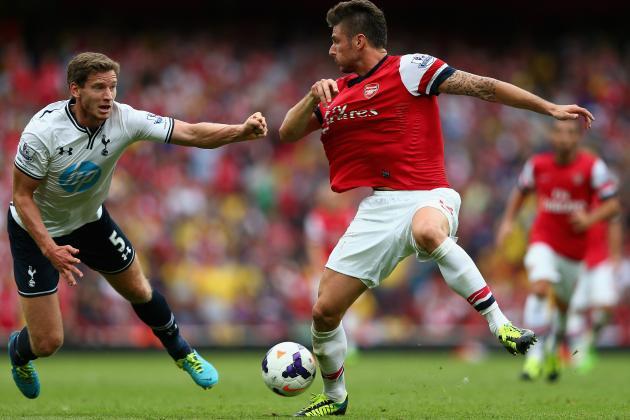 10 Classic Arsenal vs. Tottenham Hotspur Clashes