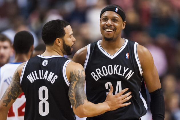 Final First-Half Player Power Rankings for Brooklyn Nets