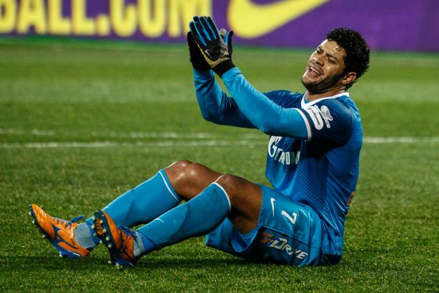 Hulk Transfer Rumours: Latest News on the Zenit St Petersburg Star